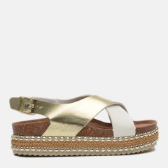 Босоножки XTI Pu Combined Ladies Sandals 49091-706 38 Золотые (8434739421607)