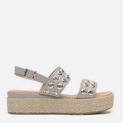 Босоножки XTI Pu Ladies Sandals 49066-18 41 Серые (8434739456821)