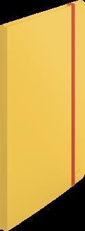 Папка пластиковая Leitz Cosy А4 на резинке 20 файлов Желтая (4670-00-19)