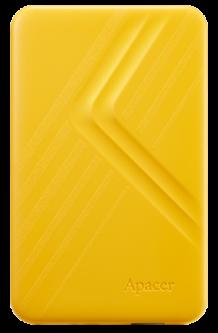 "Жесткий диск Apacer AC236 1TB 5400rpm 8MB AP1TBAC236Y-1 2.5"" USB 3.1 External Yellow"