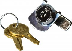 Замок к денежным ящикам ІКС E4141A, C4141A, E3336D, C4646A с ключом (K01-K10 Keylock)