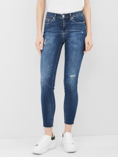 Джинси Calvin Klein Jeans Mid Rise Skinny Ankle J20J216301-1BJ 25 Denim Dark (8719853753989)