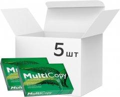 Набор бумаги офисной Multicopy А4 80 г/м2 класс A 500 листов х 5 пачек Белой (7318826579005)