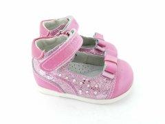 Туфли Шалунишка 100-508 20 13 см розовые