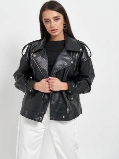 Куртка из искуственной кожи Remix W2153 L Черная (Rem2200000009029)