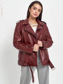 Куртка из искуственной кожи Remix W2138 XL Бордовая (Rem2200000009111)