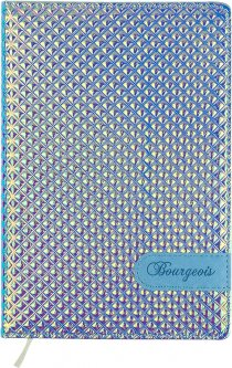 Ежедневник недатированный Bourgeois А5 160 листов Фиолетовый (6923749726441)
