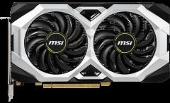 MSI PCI-Ex GeForce RTX 2060 Ventus GP OC 6GB GDDR6 (192bit) (1710/14000) (HDMI, 3 x DisplayPort) (RTX 2060 VENTUS GP OC)