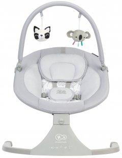 Кресло-качалка Kinderkraft Luli Gray (KKBLULIGRY0000) (5902533915668)