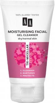 Гель для умывания AA Cosmetics Тримицеллярная технология Увлажняющий для сухой и нормальной кожи 150 мл (5900116047324)