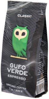 Кофе молотый свежеобжаренный Gufo Verde Esresso 200 г (4820204151188)