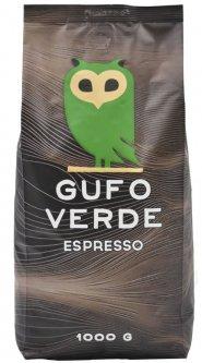 Кофе в зернах свежеобжаренный Gufo Verde Esresso 1 кг (4820204151041)