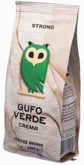 Кофе в зернах свежеобжаренный Gufo Verde Crema 200 г (4820204152352)