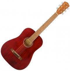 Гитара акустическая Fender FA-15 Steel 3/4 Red WN w/Bag (231266)