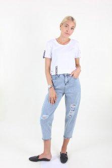 Штани WIQIQI 1280 джинс (Синій XXL)
