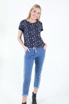 Штани Wear classic 2603 джинс (Синій S)