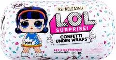 Игровой набор с куклой L.O.L. Surprise! серии Under Wraps - Конфетти (571469)