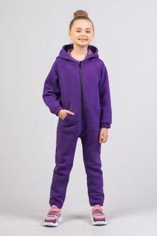 Комбінезон для дівчинки Zironka Z2-46-0001-7 122 см Фіолетовий