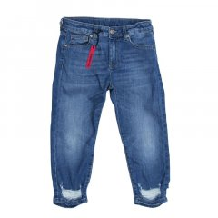 Джинси BAGGY FIT PLEASE kids 160 см Синій 71F71G
