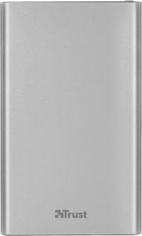 УМБ Trust Ula Thin Metal 4000 mAh Grey (TR22821)