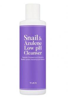 Гель з равликом та азуленом Tiam Snail&Azulene Low pH Cleanser 200 мл