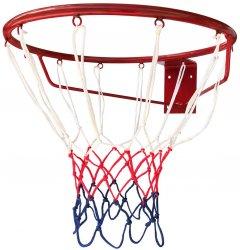 Баскетбольное кольцо усиленное Newt Jordan №2 450 мм сетка в комплекте (NE-BAS-ANT-045G)