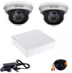Комплект видеонаблюдения Hikvision Turbo HD-2D KIT