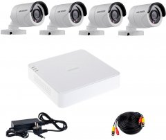 Комплект видеонаблюдения Hikvision Turbo HD-4W KIT