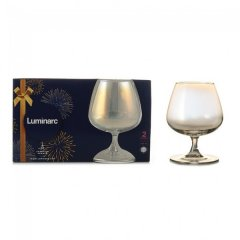 Набор бокалов для коньяка Luminarc Селест Золотистый Хамелеон 410 мл 2 шт (P1639/1)