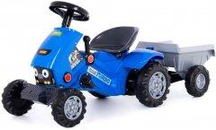 Трактор-каталка Полесье Turbo-2 с полуприцепом Синий (4810344084651)