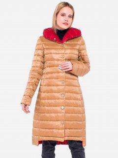 Куртка Milhan 1754 34 Темно-бежевая (2000000029542)