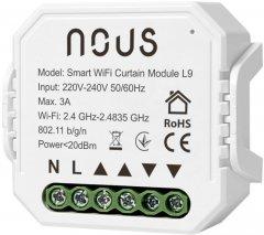 Умное реле NOUS Wi-Fi одноканальный модуль штор/роллет L9 (5907772033845)
