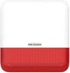 Беспроводная внешняя сирена Hikvision (красная) DS-PS1-E-WE-RED (DS-PS1-E-WE)