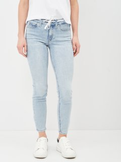 Джинси Calvin Klein Jeans Mid Rise Skinny Ankle J20J216300-1AA 27 Denim Light (8719853760659)