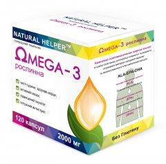 Жирные кислоты Natural Helper Omega 3 Природный помощник (4820187660011)