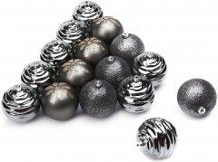 Набор елочных шаров ColorWay Merry Christmas mix 8 см 16 шт Zink (CW-MCB816ZINK)