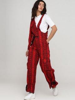 Полукомбинезон джинсовый Nyden 0095 XS Красный (KZ2000000871059)