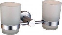Стакан для ванной двойной GLOBUS LUX SS8428