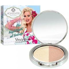 Хайлайтер Viva La Diva Duo Highlighter Pink Silver 10 г (7330906015772)