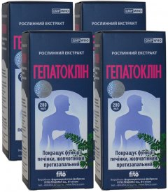 Натуральная добавка Fito Гепатоклин 200 мл 4 шт (8934711007152_4)