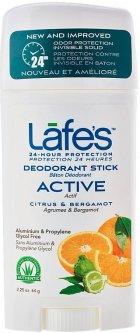 Дезодорант Lafe's Active Цитрус и Бергамот 64 г (792870550104)