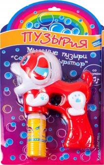 Мыльные пузыри Bubbleland Собачка-пузырятор красная (D605-2) (4812501167092-2)