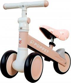 Детский трёхколёсный беговел POPPET Единорог Кенди Джелли Розово-золотой (PP-1604P)