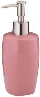 Дозатор для жидкого мыла KELA Lindano 400 мл (20333) розовый