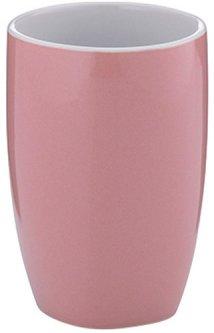 Стакан для зубных щеток KELA Lindano (20332) розовый
