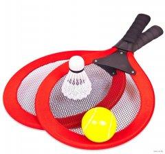 Набор ракеток для бадминтона Qunxing Toys Красный (6025) (4812501145779-2)