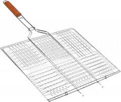 Решетка гриль BBQ большая плоская 66 х 45 х 26 см (MH-0164)