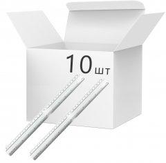 Набор линеек KLERK алюминиевых 30 см Серебристых 10 шт (Я45811_KL01530_10)