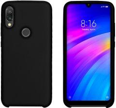 Панель Intaleo Velvet для Xiaomi Redmi 7 Black (1283126493751)