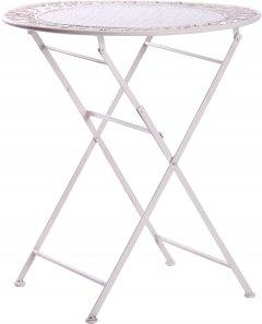 Стол AMF Тулон металл 70 x 70 x 75 см Винтаж вайт (521823)